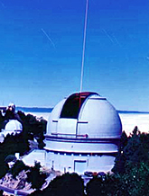 Shane Dome with Adaptive Optics Laser